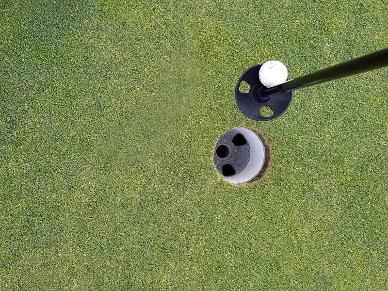 Golf Ball Tender for Golfing